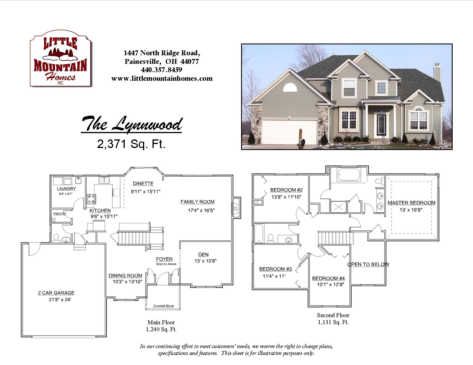 lynnwood colonial design little mountain homes click here to download floor plan pdf